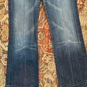 7 For All Mankind Jeans - 7FAM Dark Wash Dojo Jeans